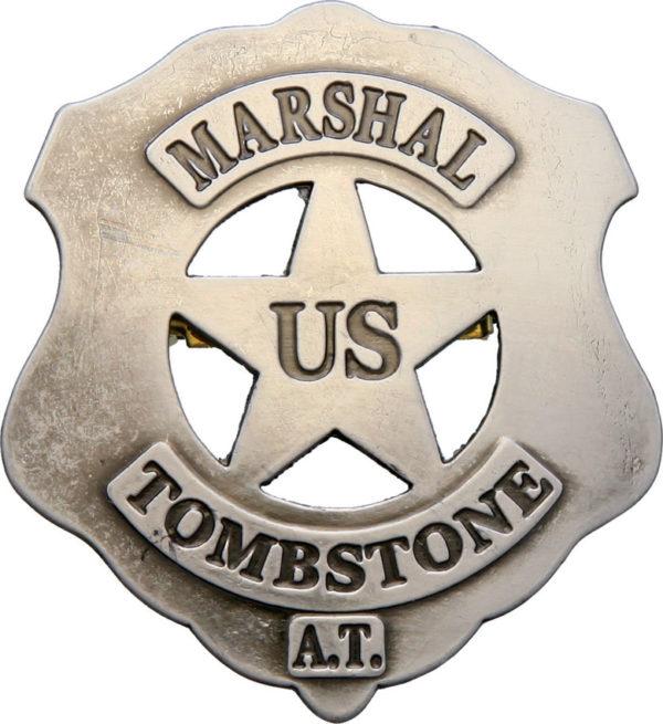 Denix US Marshall Tombstone Badge