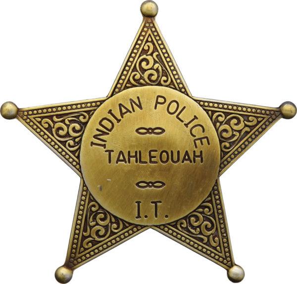 Denix Indian Police Badge Replica
