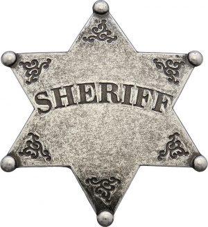 Denix Sheriff Badge