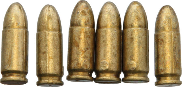 Denix 9mm Bullet Replica 6pk