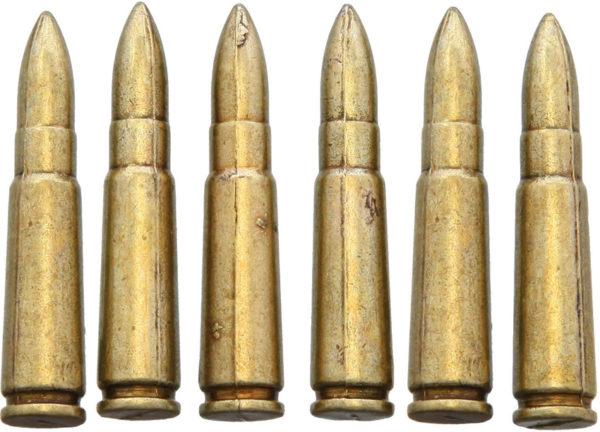 Denix AK-47 Bullet Replica 6pk