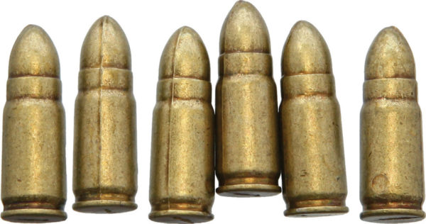 Denix Luger PO8 Bullet Replica 6pk