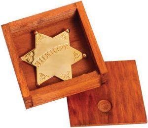 Denix Sheriff Star Badge