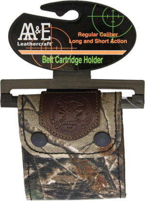 AA&E Leathercraft Belt Cartridge Holder Realtree