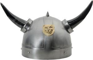 India Made Lion Viking Helmet