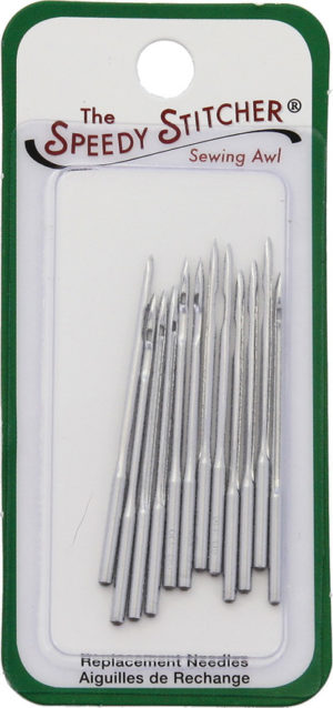 Speedy Stitcher Small Straight Needle 4S 12pk