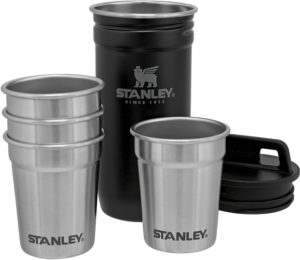 Stanley Adventure Shot Glass Set Black