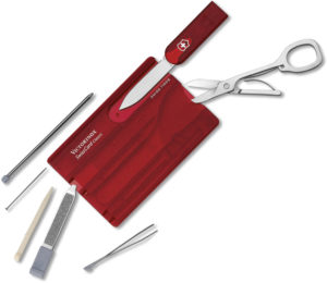 Victorinox SwissCard Ruby