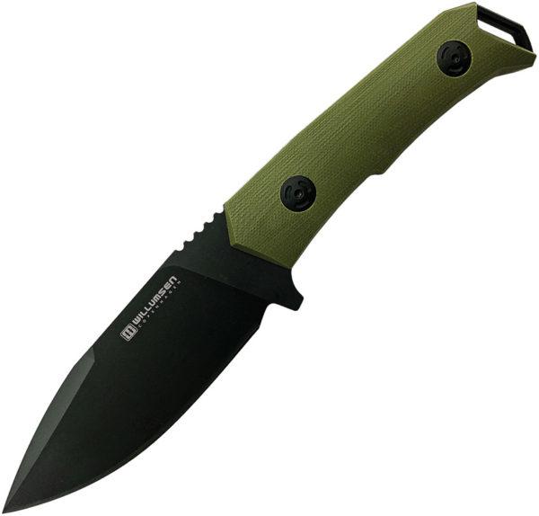 Willumsen Copenhagen Medium Despot Fixed Blade OD (4″)