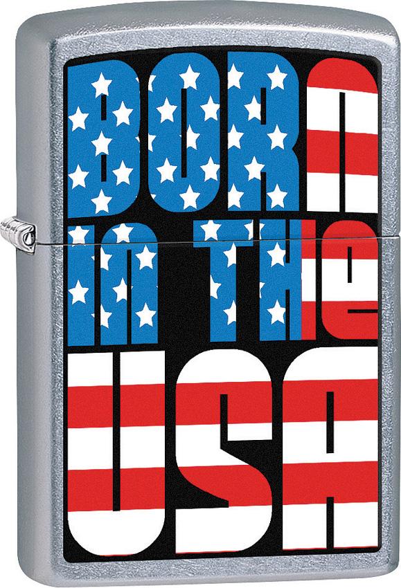 Zippo Born in the USA Lighter