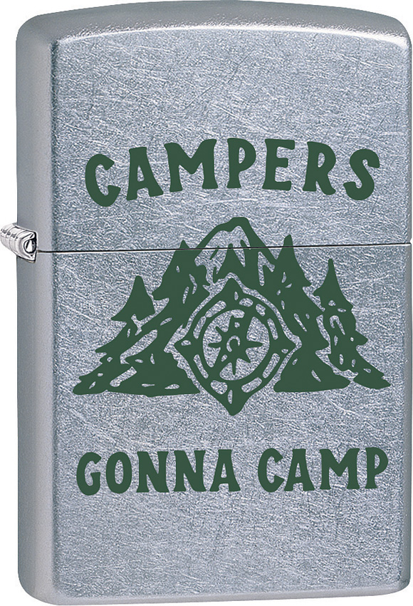 Zippo Campers Gonna Camp