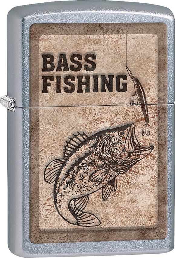Zippo Bass Fishing Lighter
