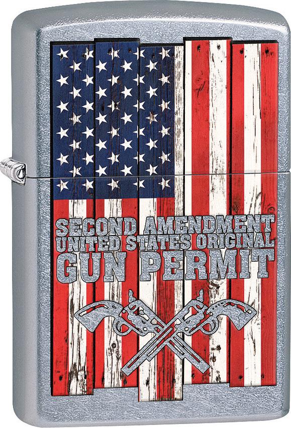 Zippo Second Amendment Lighter