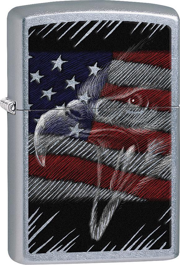 Zippo Eagle/Flag Lighter