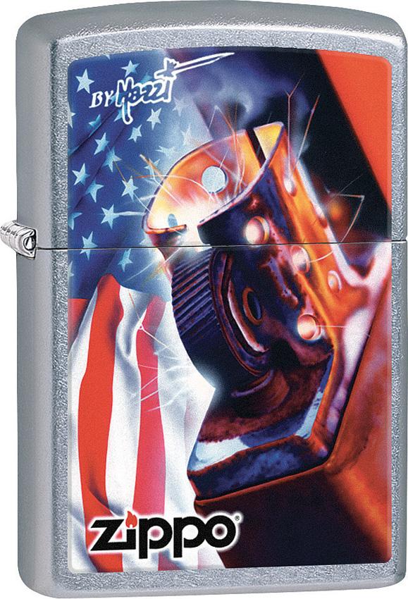 Zippo Mazzi Flag Lighter