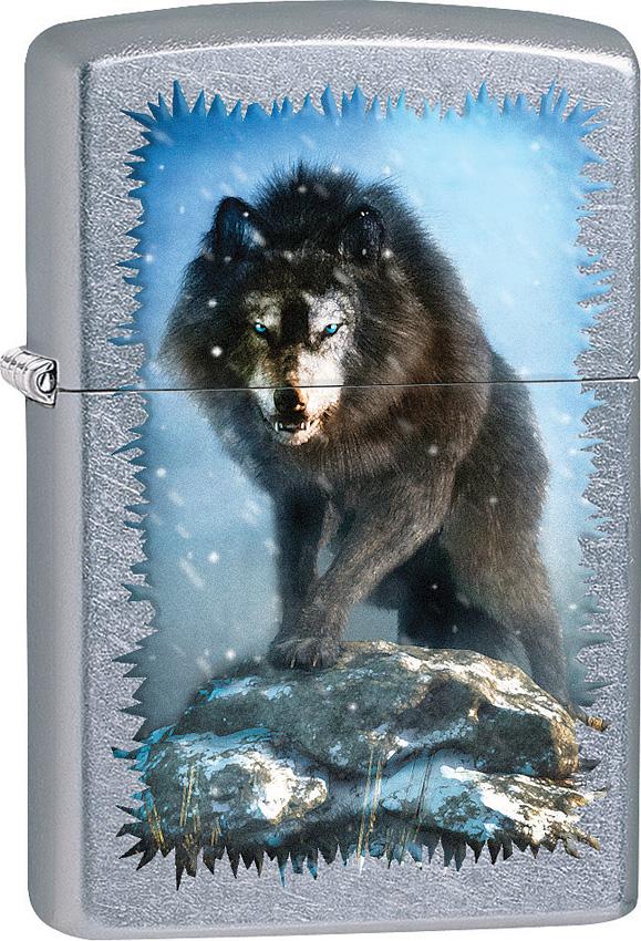 Zippo Wolf Design