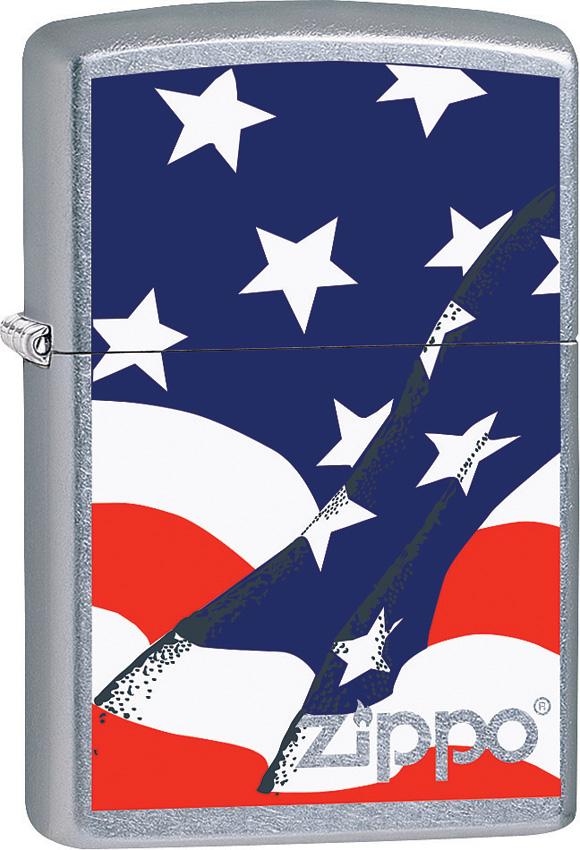 Zippo Wavy Flag Lighter