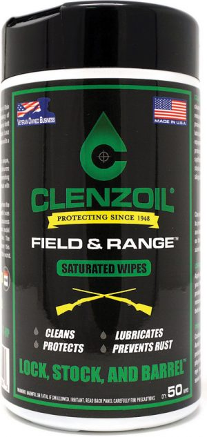 Clenzoil Field and Range Wipes
