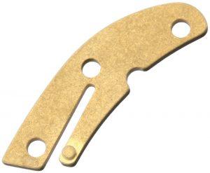 Flytanium Delica Backspacer Brass