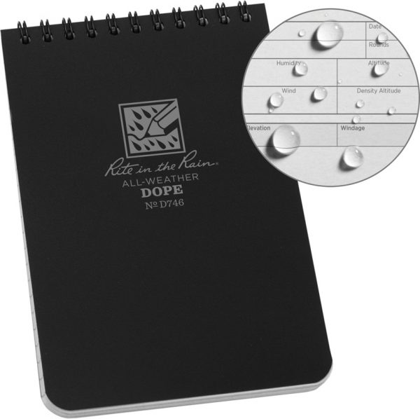 Rite in the Rain D.O.P.E. Spiral Logbook