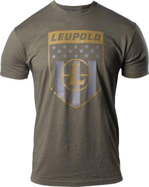 Leupold Reticle Badge T-Shirt Med Grn