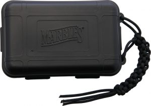 Marbles Plastic Survival Box Black
