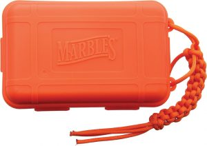 Marbles Plastic Survival Box Orange