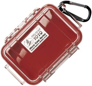 Pelican 1010 Micro Case Red