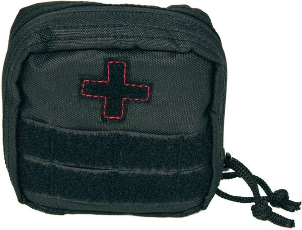 Red Rock Outdoor Gear Soldier First Aid Kit Black