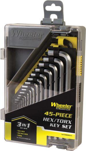 Wheeler Hex/Torx Key Set