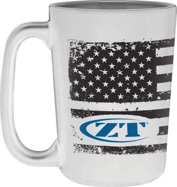 Zero Tolerance American Flag Mug