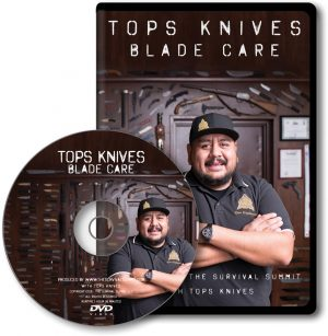 The Survival Summit TOPS Knives Blade Care DVD
