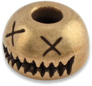 AuCon Smiley Bead Bronze