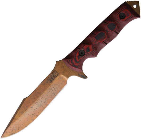 Dawson Knives Mojave 6 Red/Black (6″)