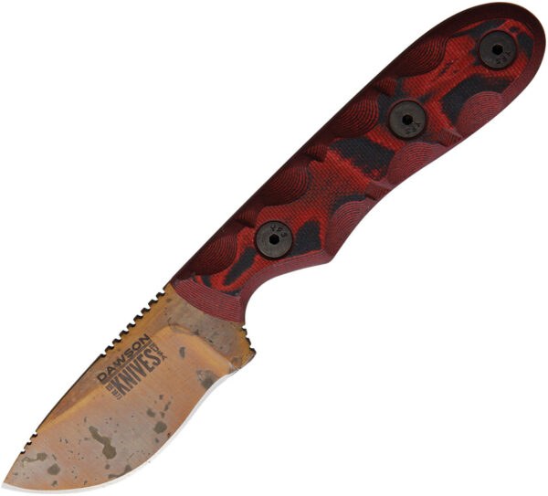 Dawson Knives Field Guide Red and Black (2.38″)