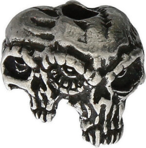 Schmuckatelli Co Gemini Twins Skull Bead