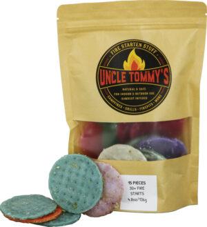 Uncle Tommy's Stuff Fire Starten Stuff 15pc Bag