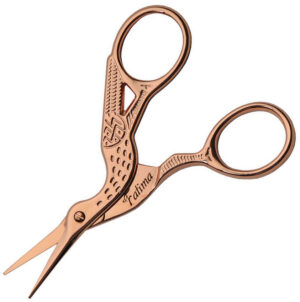 China Made Embroidery Scissors Rose Gold