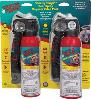 Counter Assault Bear Spray Canister Two Pack