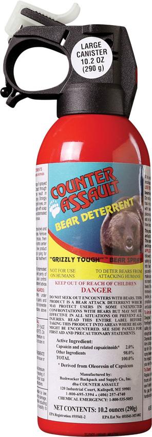 Counter Assault Bear Spray Canister 10.2
