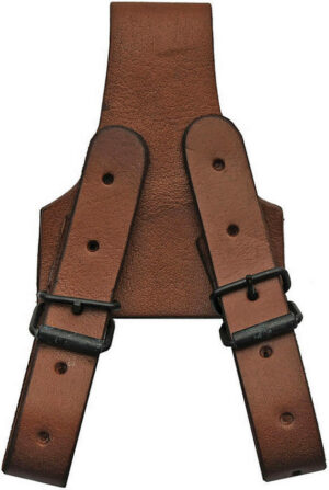 Pakistan Frog 5in Brown Leather