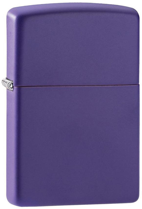 Zippo Purple Matte Lighter