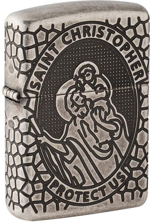 Zippo St. Christopher Lighter
