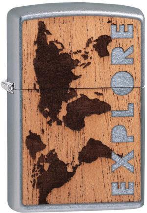 Zippo Woodchuck Lighter Mahog