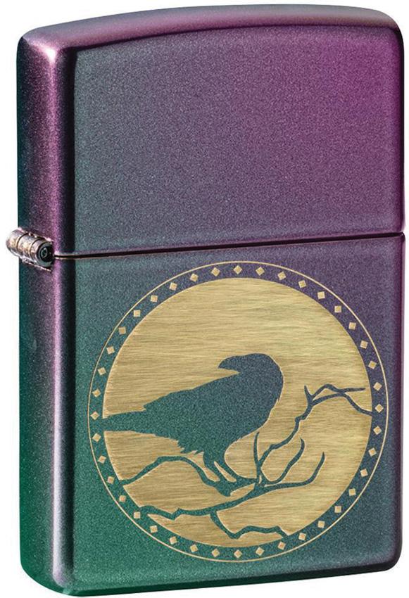 Zippo Raven Iridescent Lighter