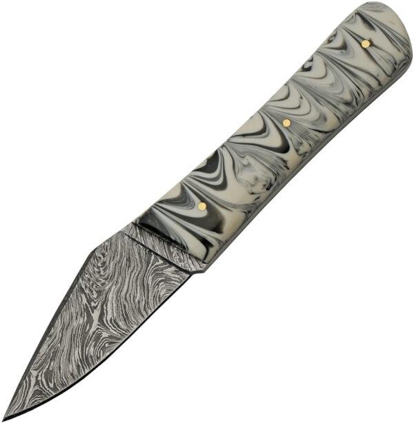 Damascus Marble Skinner Black (3.25″)