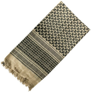 Pathfinder Tactical Shemagh Scarf Tan