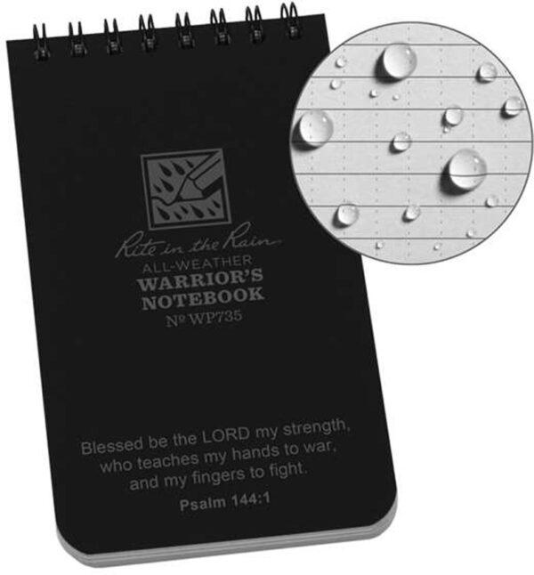 Rite in the Rain Warriors Notebook