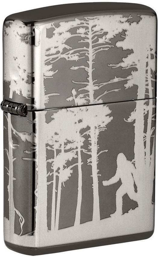 Zippo Squatchin In Woods Lighter
