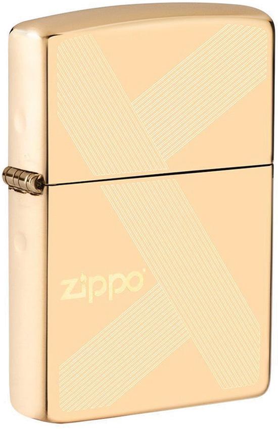 Zippo Gold Design Lighter